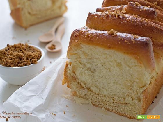 Pan Brioche cannella e zucchero di canna