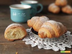 Cornetti come quelli della pasticceria, croissant fatti in casa