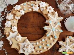 Corona di biscotti, impreziosite il vostro Natale!