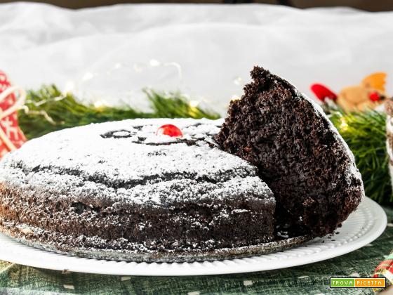 Torta Senza Uova Al Cioccolato.Torta Al Cioccolato Profumata Senza Uova E Lattosio