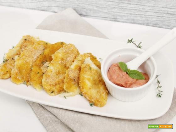 Bastoncini di Mozzarella filante (al forno)