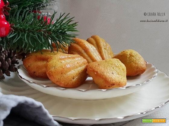 Regali inaspettati e apprezzatissimi: madeleine al pistacchio e rum