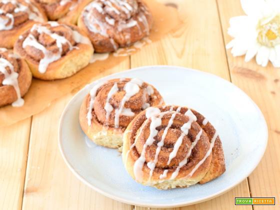 Cinnamon rolls – ricetta Kanelbulle