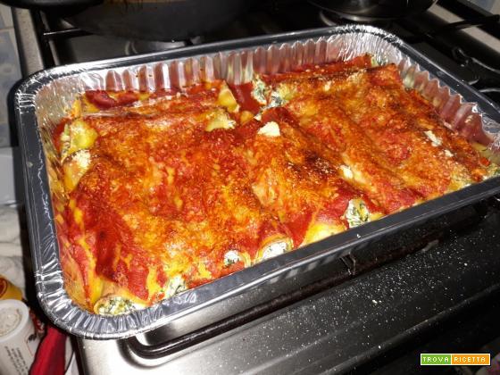 Come fare i cannelloni carne e spinaci in casa