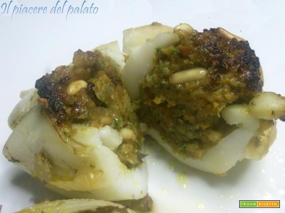 Calamari ripieni alle verdure