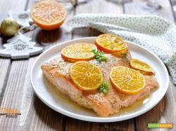 Filetto di salmone alle clementine