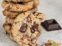 Chocolate chunk cookies: ricetta cookies americani