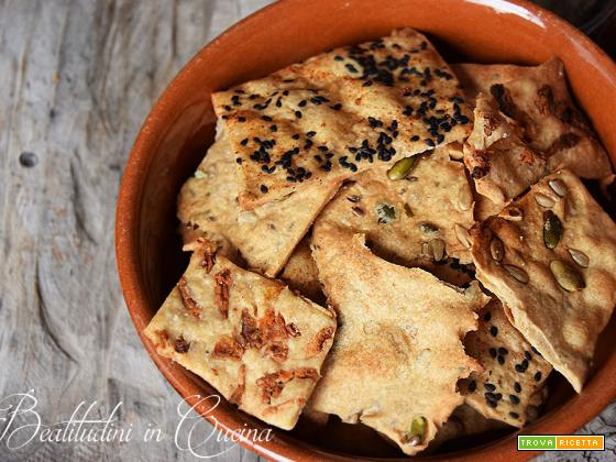 Base per crackers senza lievito
