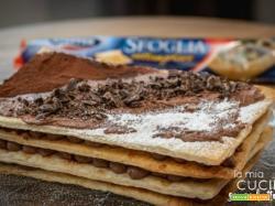 Millefoglie con mousse di zucca e cioccolato – senza lattosio – ricetta veloce