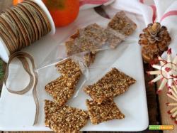 Croccante di sesamo al mandarino : un regalo originale e molto dolce