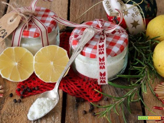 Sale aromatizzato al limone, il cadeau che conquista!