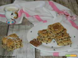 Crostata con barrette Kinder