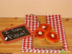 Pizzette con origano da buffet