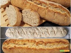 Pane di emergenza con farina integrale e semi di chia e lievito istantaneo