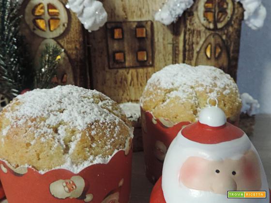 Muffin arancia, zenzero e cannella