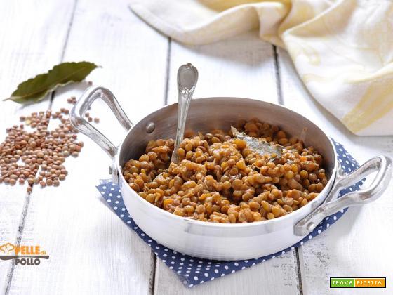 Lenticchie in umido – ricetta semplice
