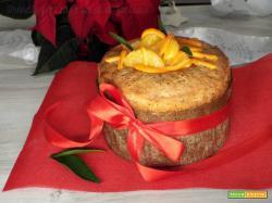 Torta panettone mandarino e cioccolato