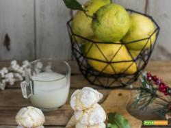Lemon crinkle cookies – biscotti morbidi al limone