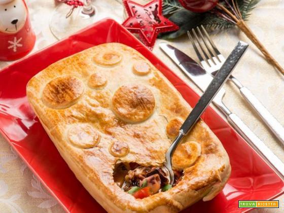 Torta salata di calamaretti, rendete speciale il vostro Natale!