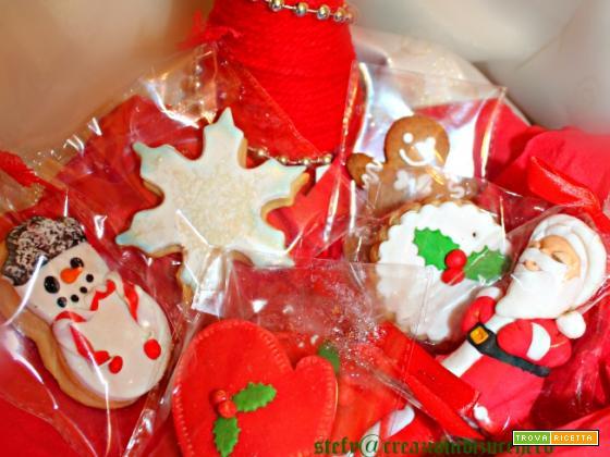 Biscotti di natale da regalare