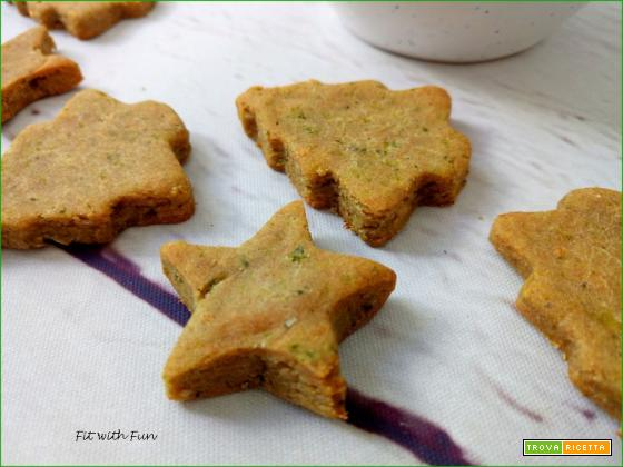 Biscotti Senza Glutine Broccoli e Grana con Mousse di Salmone