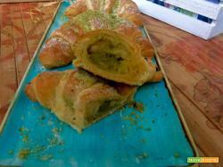 Cornetti con crema di pistacchio