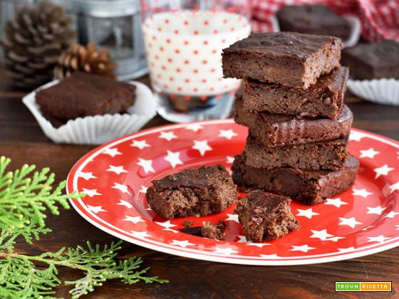 Brownies al cioccolato e avocado