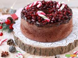 Natale con CLUSE: Ciambella speziata con crema di cioccolato e melagrana