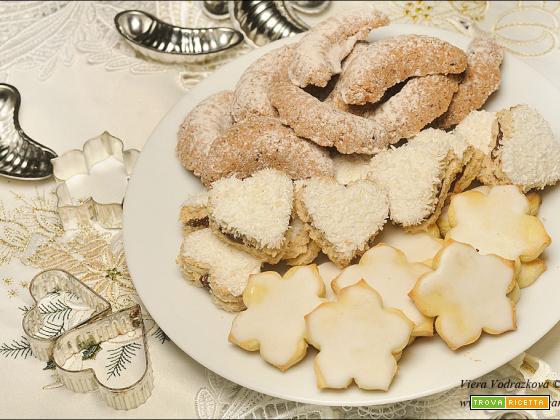 I magnifici tre – vegan e gluten free biscotti di Natale