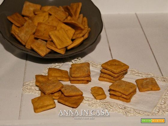 biscottini salati al pomodoro