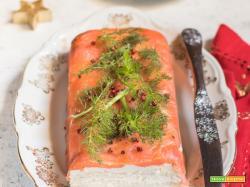 Terrina di salmone – VELOCE e senza cottura