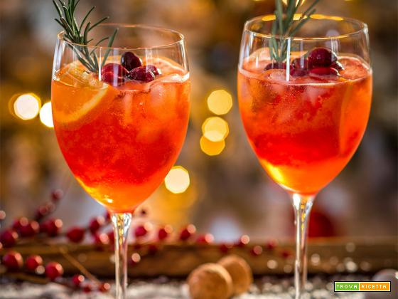 SPRITZ di NATALE ricetta | Winter HOLIDAY CHRISTMAS SPRITZER recipe