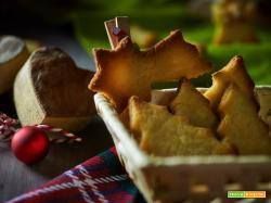 Biscotti di frolla veg per Natale
