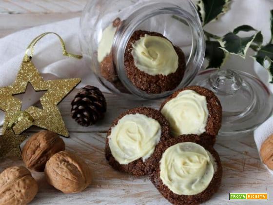 Biscotti alle noci, dolci dolci e ancora dolci per Natale