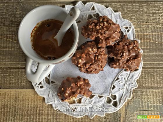 Dolcetti veloci cioccolato e nocciole