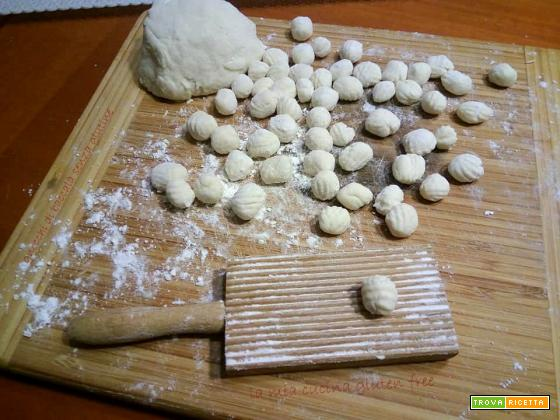 Chicche di gnocchi con baccalà senza glutine