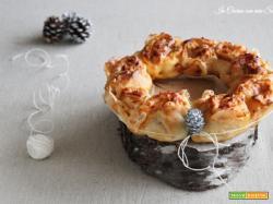 Corona di pizza – antipasto delle feste