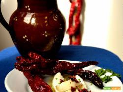 Baccalà e peperoni cruschi per un Capodanno col ricettario Come è bello mangiar bene da Palermo in su