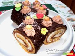 Tronchetto dolce del Buon Augurio