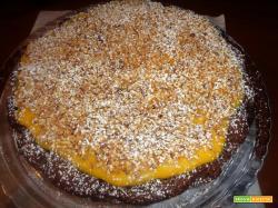 Ricetta – Torta di pere e cioccolato con crema pasticcera