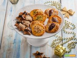 Biscotti di pasta sfoglia con semi e frutta secca, senza lattosio!