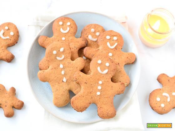 Biscotti Omini Pan di Zenzero Vegani