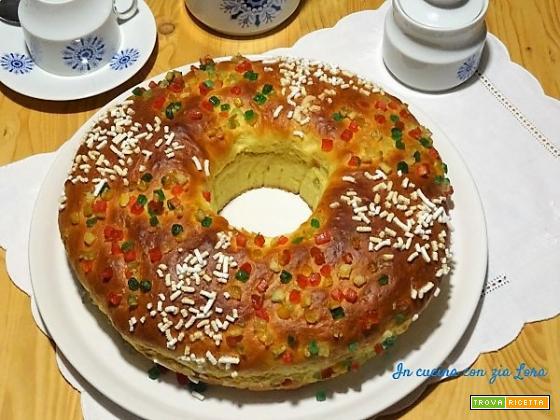 Roscon de Reyes o Ciambella dei Re Magi
