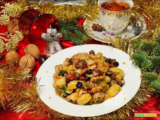 Gnocchi al profumo di sottobosco – autunno e inverno nel piatto