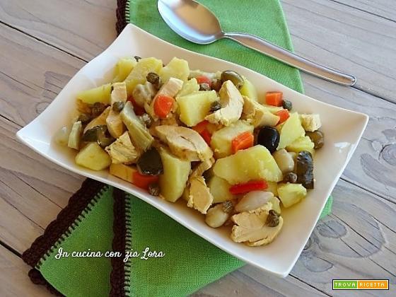 Insalata di pollo e patate ricetta antispreco