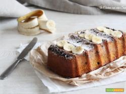 Plumcake allo yogurt e banana senza olio e burro