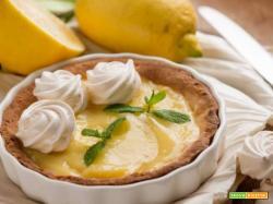 Crostata al limone , una ricetta da preparare in compagnia!