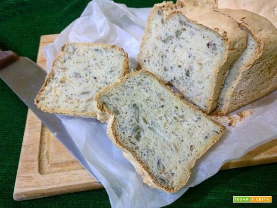 Pane senza glutine ai semi con la MdP