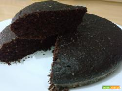 Torta cacao all'acqua vegan