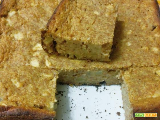 Torta integrale di mele senza zucchero